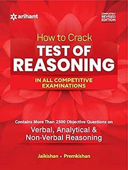 How to Crack Test Of Reasoning-  REVISED EDITION by [Jai Kishan, Prem Kishan]