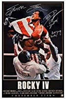 Rocky IV Movie Wall Art Retro Poster HD Print Canvas Print Oil Painting Mural Living Room Home Decor Frameless Painting 40*60cm