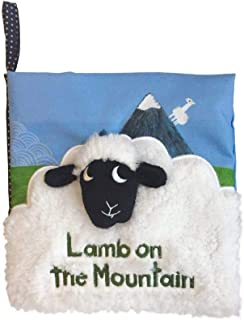 (Mountain) - Manhattan Toy What's Outside Mountain-Themed Soft Baby Activity Book with Rattle