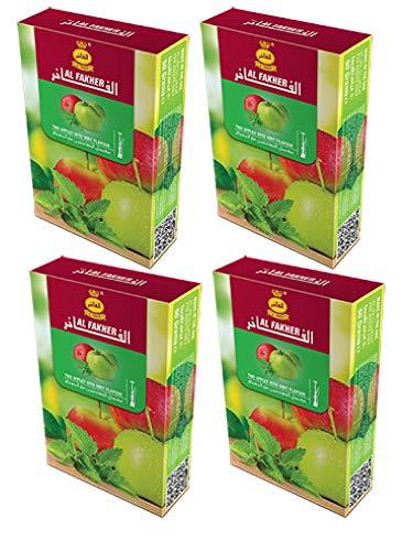 Al Fakher 2 x 200g packs Herbal Shisha DOUBLE APPLE Flavor...