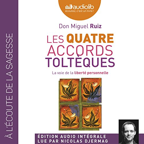 Couverture de Les quatre accords toltèques