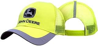 John Deere Construction Cap Yellow