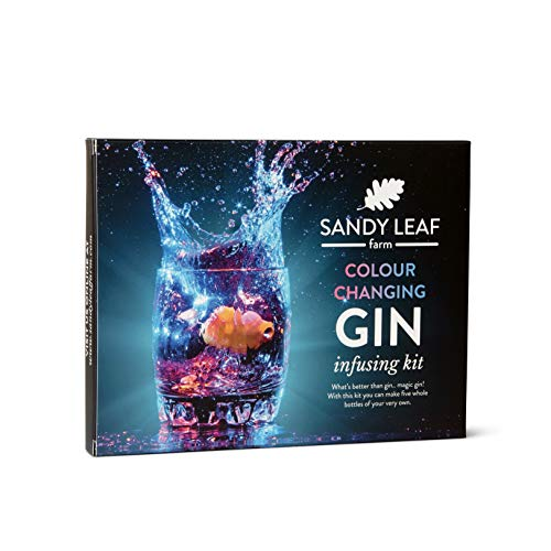 Colour Changing Gin Infusing Kit - Make a whopping Five Bottles of Your own Magically...