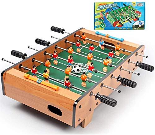 Codzienne wyposażenie Stół do piłkarzyków dla ponad 3 lat Arcade Table Games for Children Kompaktowa gra stołowa z 6 prętami Family Fun Game (z 4 piłkami)