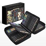 SOUNDANCE 72 Lápices de Colores para Adultos, lapices Colores Profesionales con Cremallera Case y Soft Core, Suministros de Arte para niños Artistas Principiantes