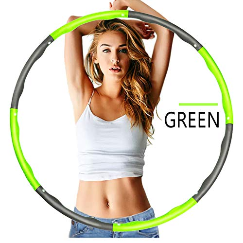 Best Review Of BANA Hula Hoop, Portable and Detachable Hula Hoop, Slim and Thin Waist Fitness, Suita...