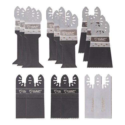 Why Choose Harpow 15pcs Oscillating Multi Tool Blades Kit