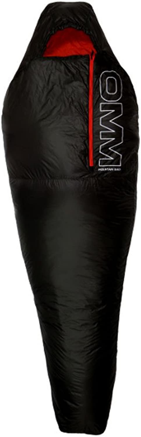 OMM Mountain Raid 1.0 Sleeping Bag One Size Black orange