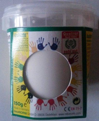 ökoNORM nawaro Fingerfarbe weiß, 150g