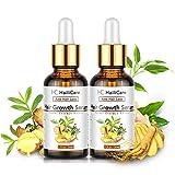 Haarwachstum Serum, HailiCare Haar-Behandlung, Anti-Haarausfall Haarserum für stimuliert und Haarwurzeln Stärken für Volleres
