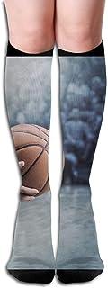 Hunter qiang, Calcetines largos para mujer, hasta la rodilla, 50 cm