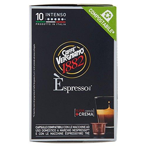 Caffè Vergnano 1882 Èspresso1882 Intenso - 10 Capsule - [confezione da 3]