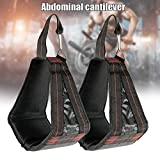 Syfinee 2 pcs Fitness Hanging Ab Straps ABS Training Supporters Training Abs Belt Horizontal Bar Pull-up Sling...