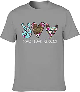 Lässig Hippie Peace Love - Camisas sarcásticas para hombre