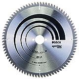 Bosch 2608640645 Lame de scie circulaire Optiline Wood 80 dents 250 x 30 x 3,2 mm