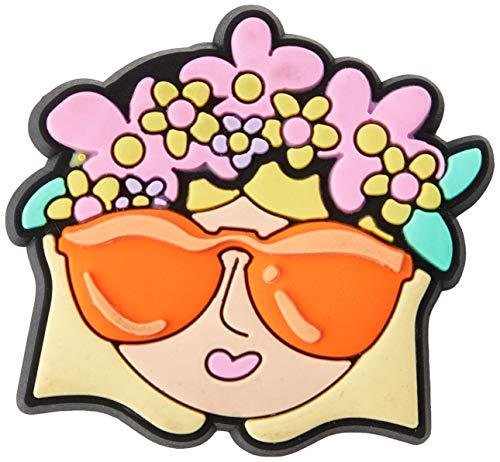 Crocs Flower Crown Girl Shoe Decoration Charms, Multicolour (Multicolour), One Size