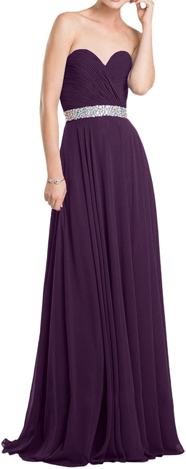 MILANO BRIDE Nifty Aline Sweetheart Fold Crystals Bridesmaid Dress Prom Gown
