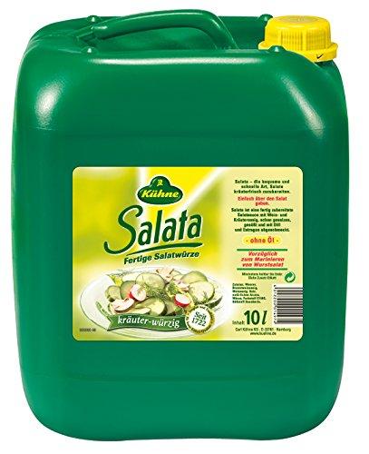Kühne Salata, fertige Salatwürze, 10 L Kanister, 1er Pack (1 x 10 kg)