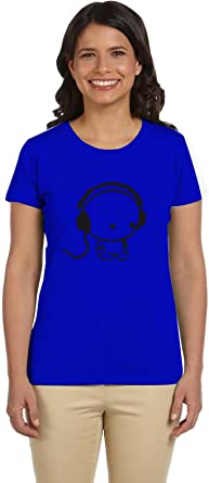 PTB W-NK281 T-Shirts Printed Short Sleeve For Women