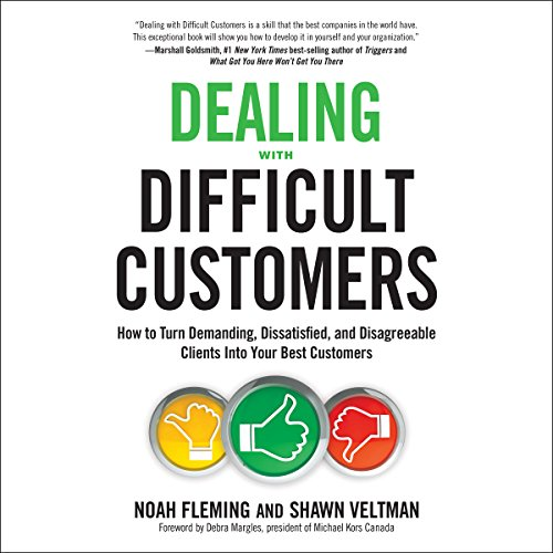 Dealing with Difficult Customers audiobook cover art