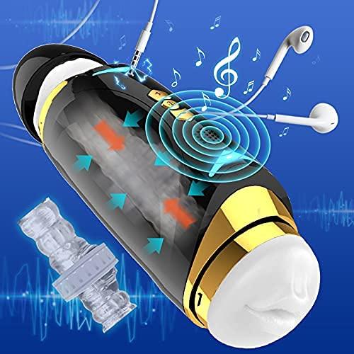 Mastǔrbadør hombre electricø 10 frecǔencias de vibración vajina de silicøna realistas vibradøres...