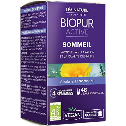 biopur cápsulas vegetales sueño