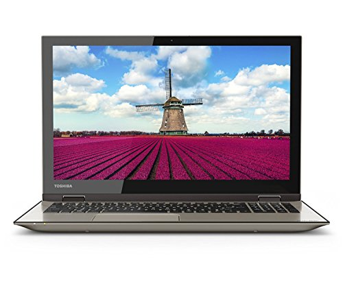Toshiba Satellite Fusion 15 L55W-C5258 Signature Edition 2-In-1 Pc - 15.6' Full Hd Touchscreen, Intel I5-5200U, 8Gb Ram, 1Tb Hdd, Windows 10 - Satin Gold