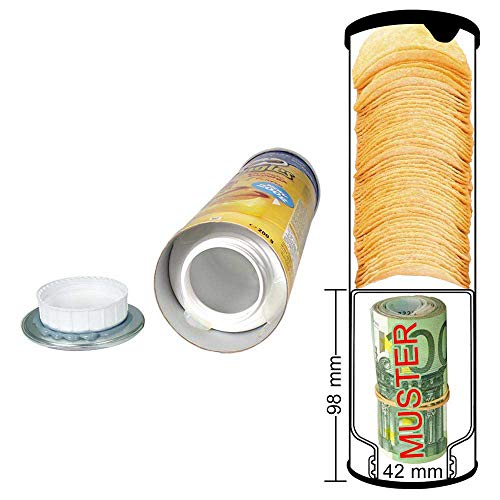 Geldversteck Tresor Geldkassette Stash Pringles Dose verschiedene Sorten
