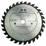 Inter-Craft Lame de scie circulaire de qualité supérieure pour bois 185 x 20-16 mm 30 dents