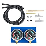 Motorcycle Vacuum Gauge Balancer - Carb Synchronizer - Motorcycle Carb Carburetor Vacuum Gauge Synchronizer Balancer Tool Motorcycle Accessories Durable 2 Cylinder