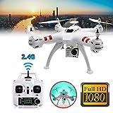 Cewaal RC Quadcopter Drone, (blanc) X15 WiFi 4 canaux HD 2.0MP 170 degrés FPV Sports...
