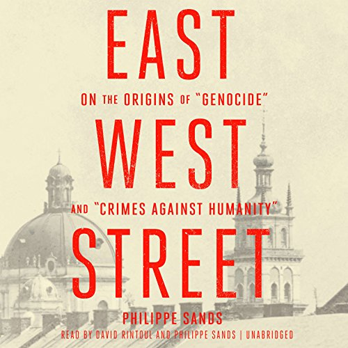 East West Street audiobook cover art