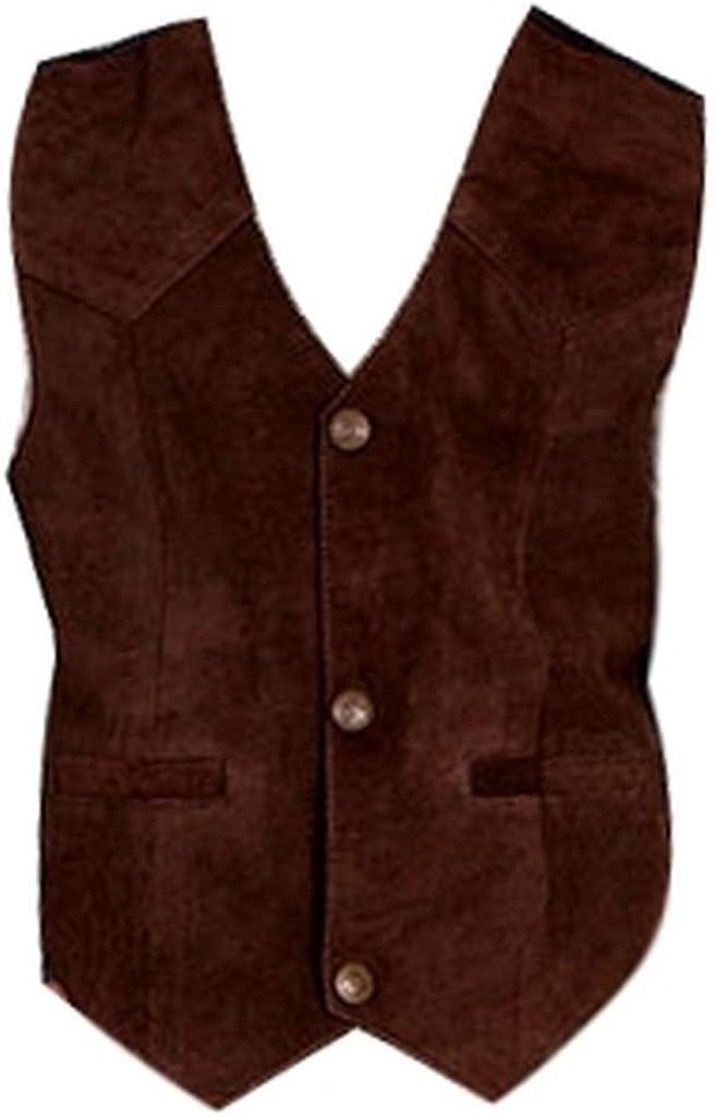 Scully Boys' Boar Suede Vest