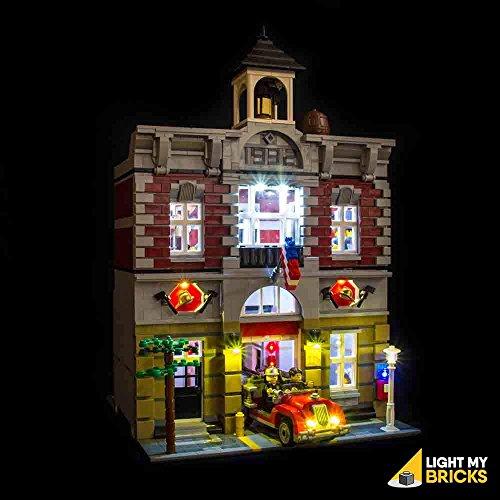 Beleuchtungssets kompatibel mit LEGO® Feuerwache (10197)