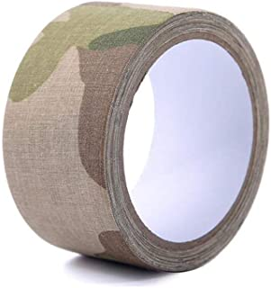 Pastall 5CM×10M Camo Tape Self Adhesive Camouflage Bandage Wrap Cohesive Cotton Medical Vet Tape for Outdoor Camping Military Hunting Gun