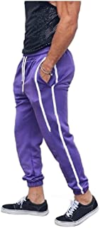 Mogogo Mens Elastic Drawstring Cozy Tailored Fit Casual Jogger Pant
