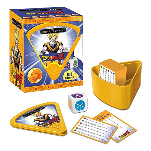 USAopoly Dragon Ball Z Trivial Pursuit Board Trivia Game Juego De ...