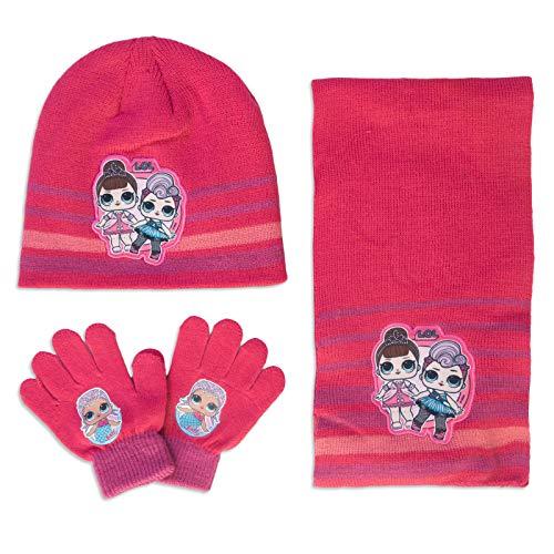 MGA L.O.L. Surprise!!!! - Set muts, sjaal & handschoenen voor meisjes - 971-81