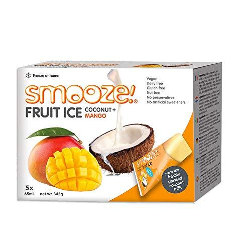 Smooze! Fruchteis Mango Kokosnuss - 325ml (5x65ml)