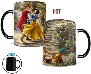 Disney – Snow White – Dancing in the Sunlight – Prince and Princess – Thomas Kinkade – Morphing Mugs Heat Sensitive Mug – Ceramic Color Changing Heat Reveal Coffee Tea Mug – by Trend Setters Ltd.