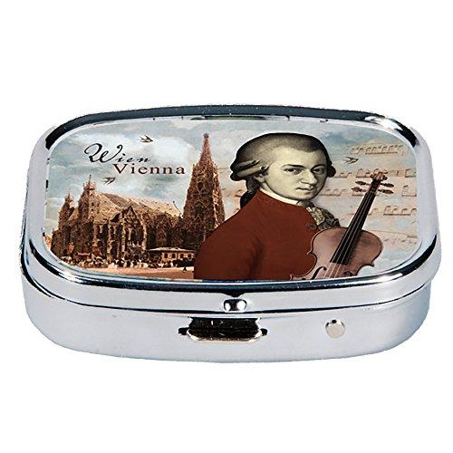 Fridolin 18217 Viena Mozart & Stephansdom-Caja de Metal,