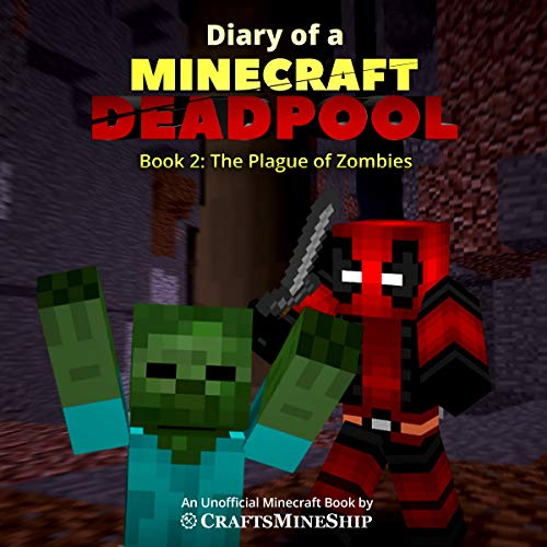 Diary of a Minecraft Deadpool audiobook cover art