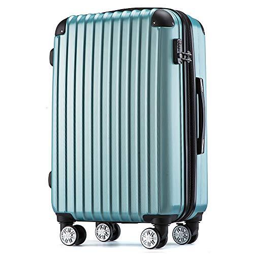 [トラベルハウス] Travelhouse スーツケース 超軽量 TSAロック搭載 ABS 半鏡面仕上げ4輪 ファスナータイプ ...