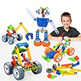 INSOON 10 in 1 STEM Toys for Kids Building Toys Kit Creative...