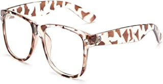 Aiweijia Blue Light Filter Computer Glasses Anti-UV Goggle Fashion Vintage Clear Lens Glasses