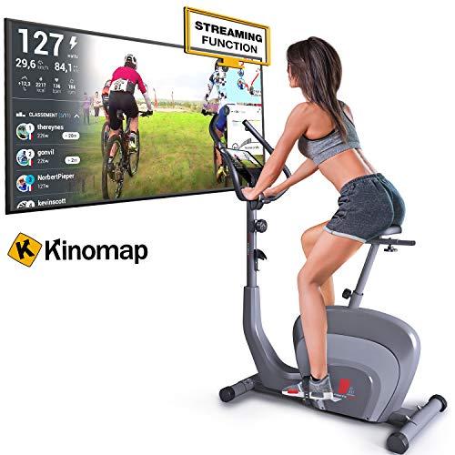 Sportstech ES400 Ergometer Vélo d'exercice - Marque Allemande de qualité -Vidéo Événements &...