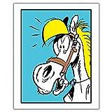 ZigZag Editions Poster Offset Lucky Luke, Jolly Jumper Blue