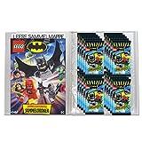 Batman 2019 Lego Trading Cards - 1 carpeta en blanco y 20 sobres (en alemán)