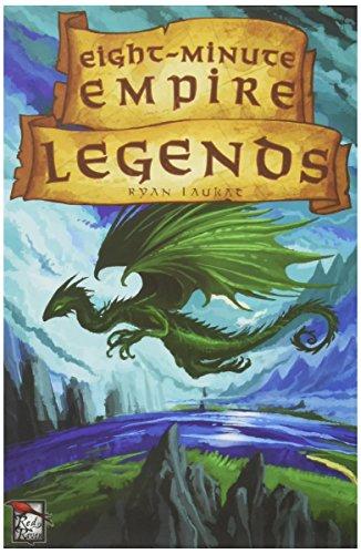 Red Raven Games- Jeu de société Eight Minute Empire Legends, RRG00004