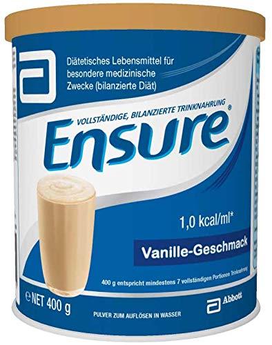 Abbott Ensure Vanille Pulver Trinknahrung Milchpulver 400g Dose - 24 Stück